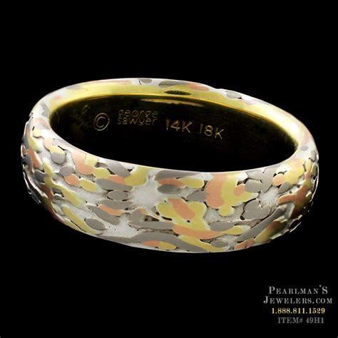 George Sawyer Koi Wabi Sabi Yellow Gold Ring