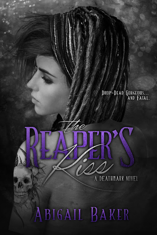 Author Interview & New Release: The Reaper's Kiss (Deathmark #1) by Abigail Baker