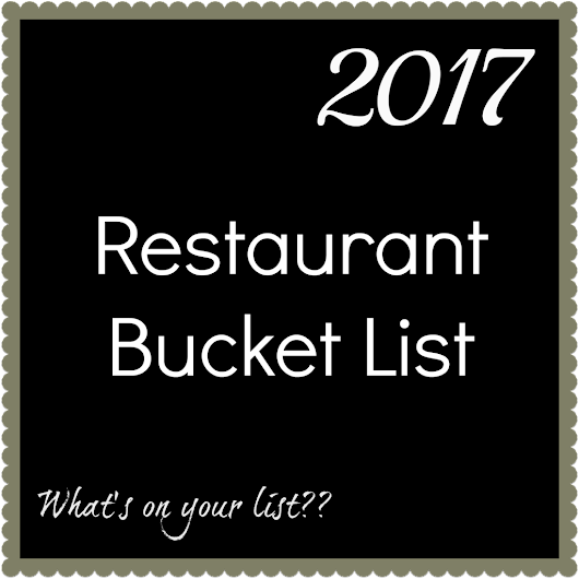 Where Do You Want to Eat in 2017?? - Cocktails and Cactus