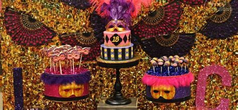 Kara's Party Ideas Masquerade 18th Birthday Party