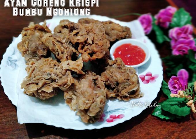 Resep Ayam Goreng Krispi Bumbu Ngohiong Cita Rasa Tinggi
