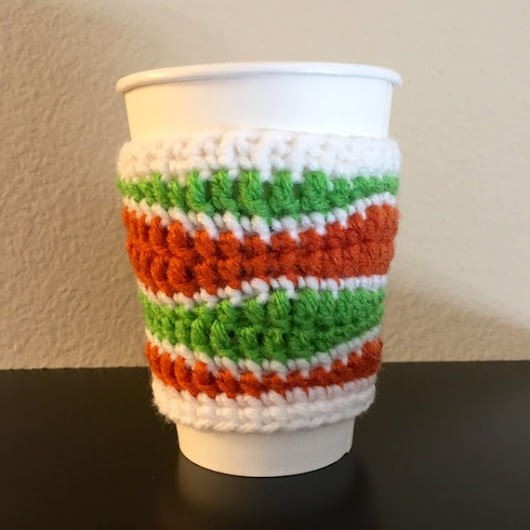 School Colors Coffee Cozy School Spirit by AmysCraftingCorner1