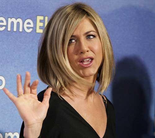 10 Jennifer Aniston Bob Haarschnitte Frisuren Trend