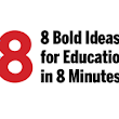 8x8: HGSE Faculty Share Their Bold ideas to Improve Education