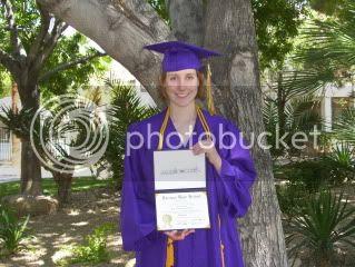 Rebecca: Graduate!