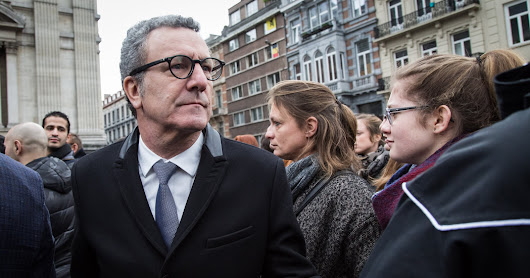 Scandal Drove Brussels's Mayor From Office. Now He's Nowhere to Be Seen.