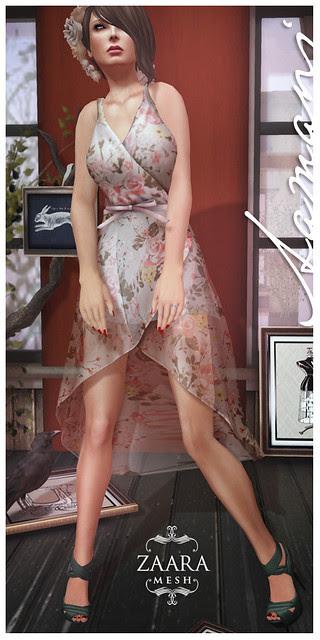 Zaara : Aamani wrap dress