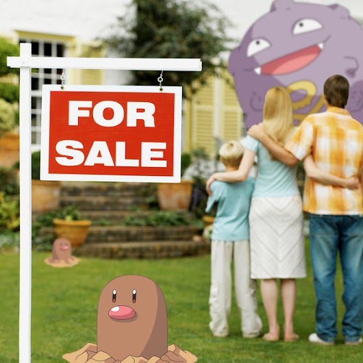 People Are Already Using Pokémon Go as a Real Estate Selling Point