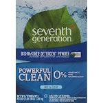 Seventh Generation Automatic Free & Clear Dishwasher Powder - 45 oz box