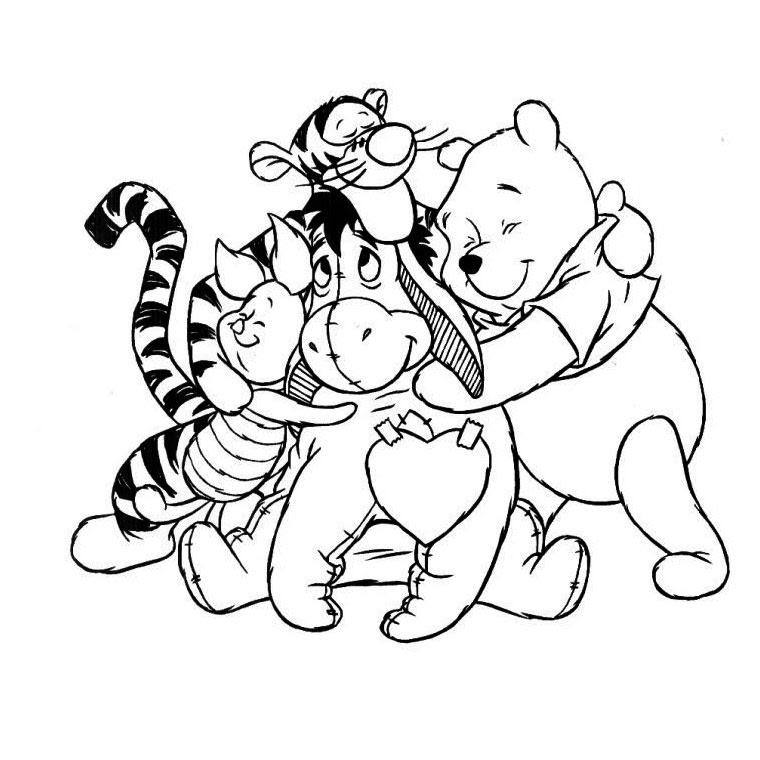Coloriages à Imprimer Winnie Lourson Numéro 577074