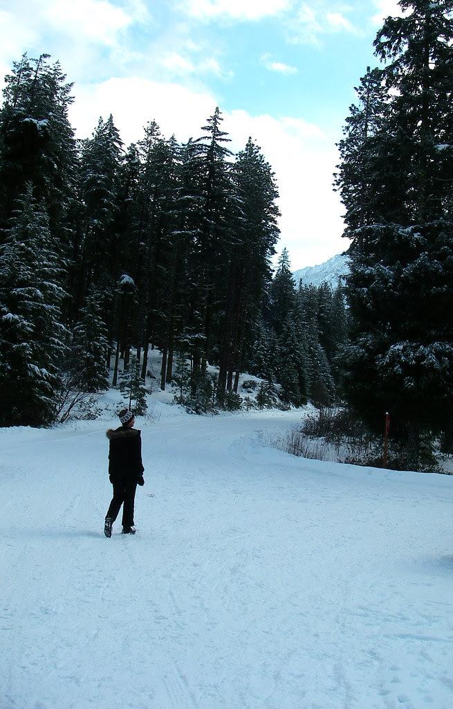 Faith cross country skiing