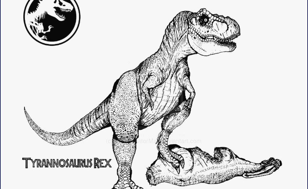 malvorlage dinosaurier t rex ausmalbild  t rex 2