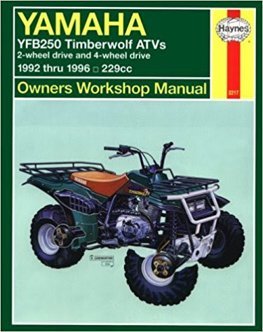 Yamaha Yfb250 Timberwolf Atvs 1992 2000 Haynes Owners Service And Repair Manual Workshop Manuals Australia