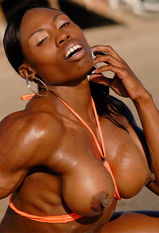 Naked muscle women Any Muscled