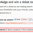 Share DistilledU for a chance to win a ticket to SearchLove | distilled