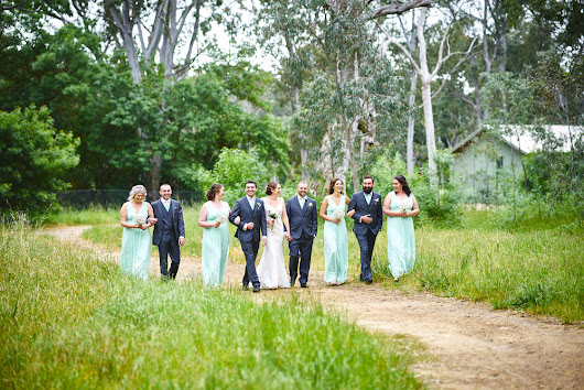 Heather and Dan's wedding at Belair Country Club, Adelaide