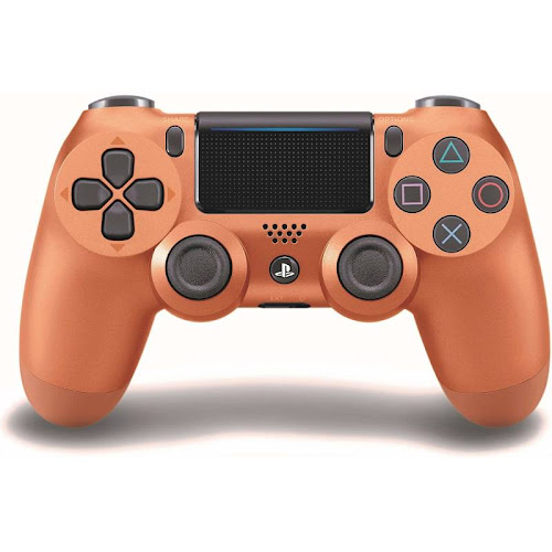 Sony DualShock 4 USB Bluetooth Controller for PS4 - Metallic copper