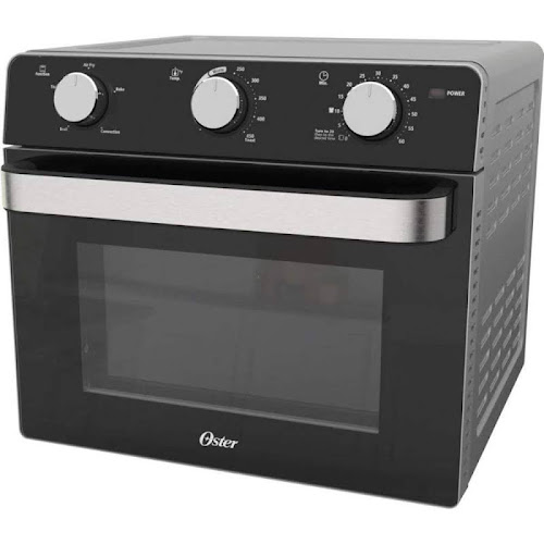 Oster Black Countertop Toaster Oven with Air Fryer