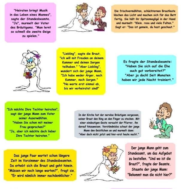 Hochzeitszeitung witze Hochzeitszeitung