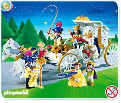 Carrosse Mariage Playmobil
