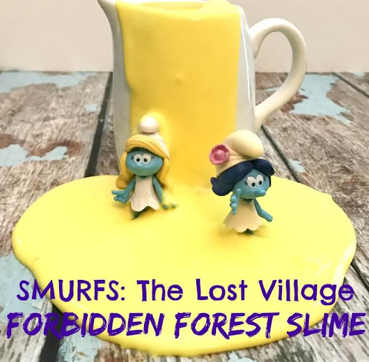 SMURFS - Forbidden Forest Slime | The TipToe Fairy