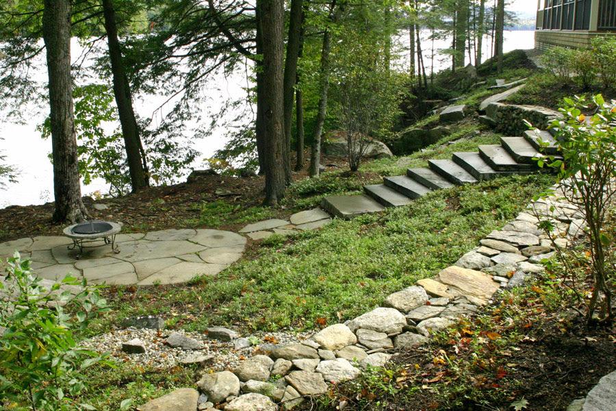 Lakefront Landscape Designs Nh Architects