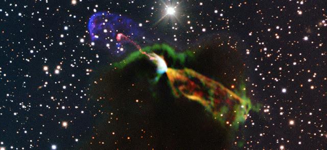 Imagen de la estrella recién nacida. | ESO