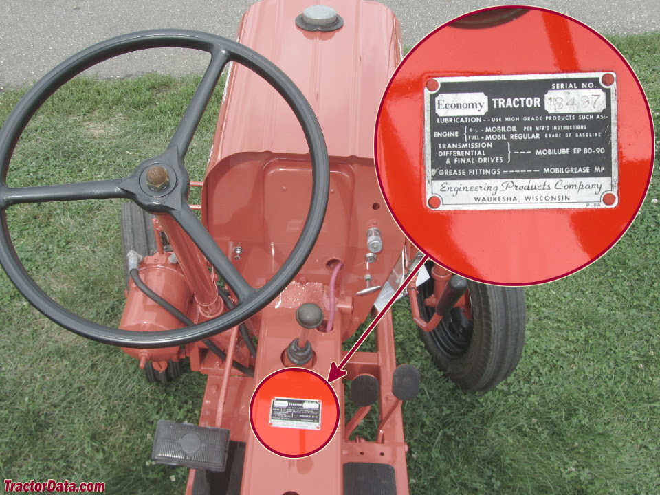 Tractordata Com Economy Power King 14hp Tractor Information