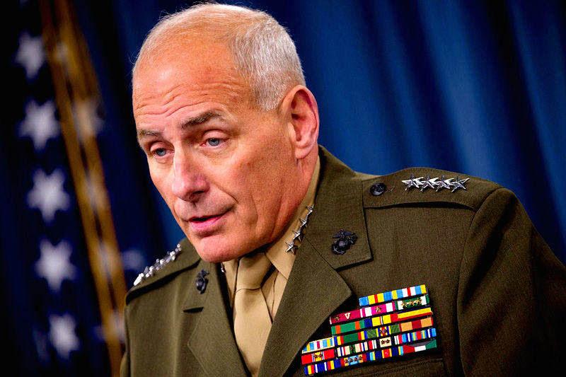 Jefe del Comando Sur de Estados Unidos General John Kelly
