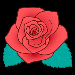 バラの花素材9 花植物イラスト Flode Illustration フロデイラスト