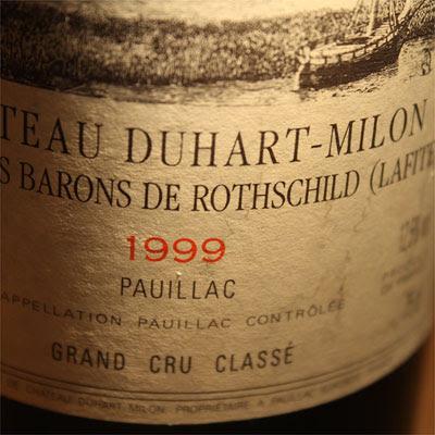 Chateau Duhart-Milon Rothschild 1999