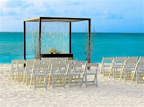 Moon Palace Cancun, Mexico, Caribbean Wedding   Tropical Sky