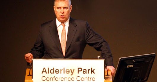 Duke of York visits biotech startups at Alderley Park