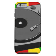 Rasta Turntable Tough iPhone 6 Case