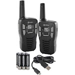 Cobra Cxt195 16-Mile 2-Way Radios Walkie Talkies, 2-Pack