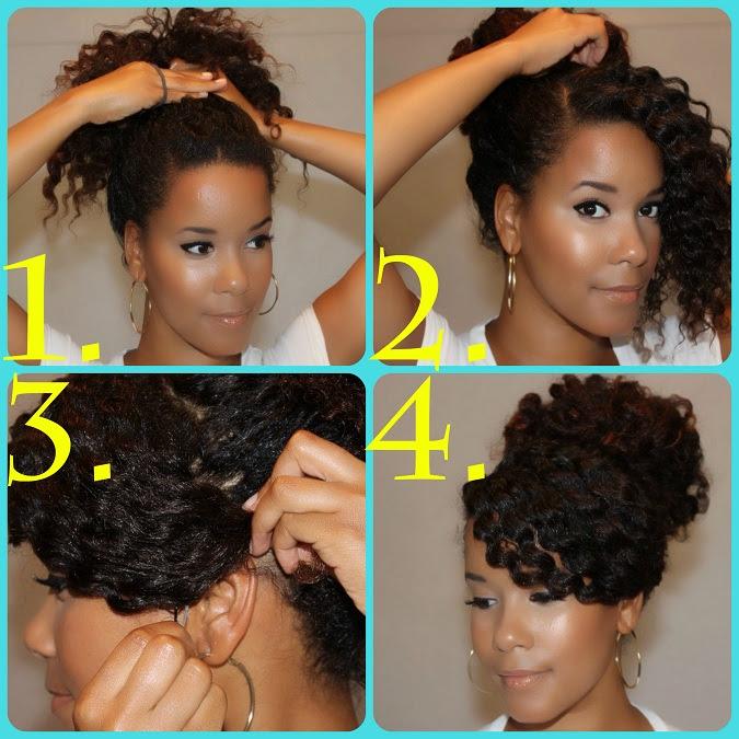 ACCONCIATURA ELEGANTE per CAPELLI RICCI (e non) tutorial  - acconciatura semplice capelli ricci