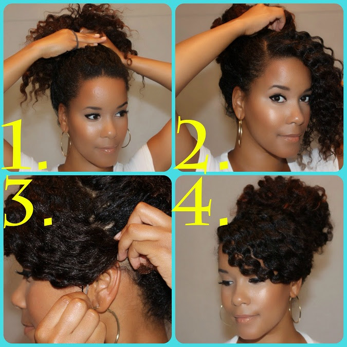 acconciature capelli ricci corti fai da te - 5 facili acconciature ricce fai da te per la primavera Capelli ricci