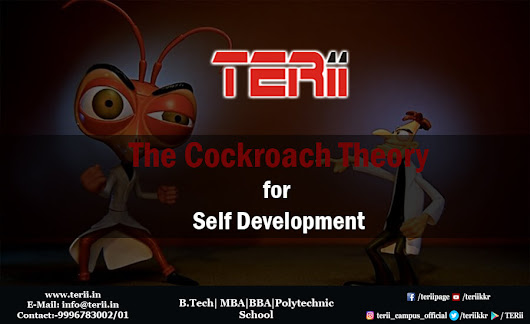 The Cockroach Theory for Self Development - TERii