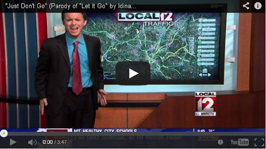 This TV News Traffic Guy Nails Winter Driving Advice