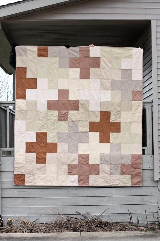 Giant Neutral Plus Quilt