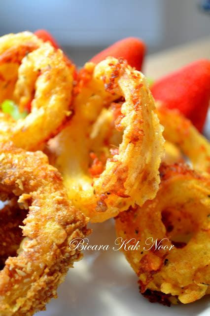 sambal telur onion rings butterprawn green curry