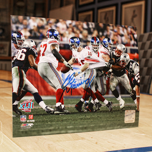Eli Manning Great Escape Signed Photo Giveaway