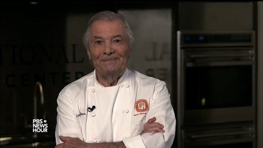 Jacques Pépin says following a recipe can lead to disaster