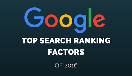 Google's Top Search Ranking Factors of 2016, According to Searchmetrics Study - Search Engine Journal