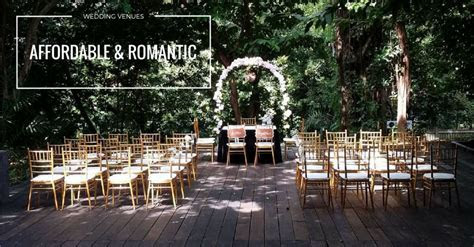 8 Romantic But Affordable Wedding Venues In Singapore