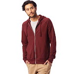 Alternative - Men's Franchise Vintage French Terry Hoodie-MAROON-3XL