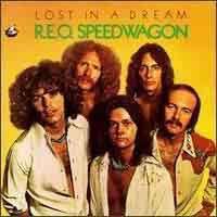 [REO Speedwagon Lost in a Dream Album Cover]