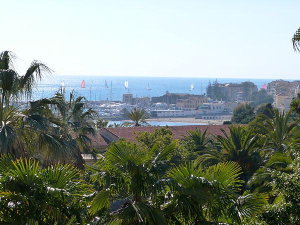 vue de la villa Ormond
