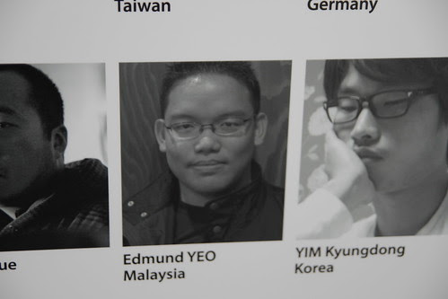 My photo at the PIFF2010 poster