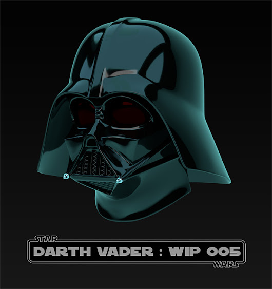 Back to be an artist & Darth Vader Bust WIP 005